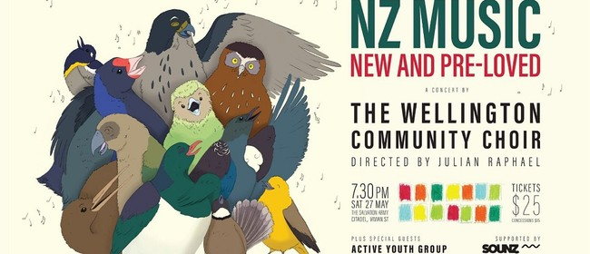 NZ Music New and Pre-loved - Wellington Community Choir