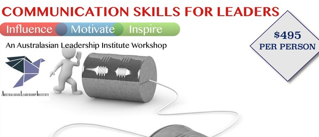 Communication Skills Training For Leaders