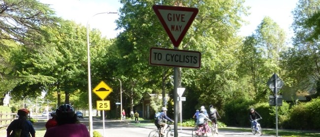 Slow Confidence Ride For Adult Cyclists - Fendalton/Merivale