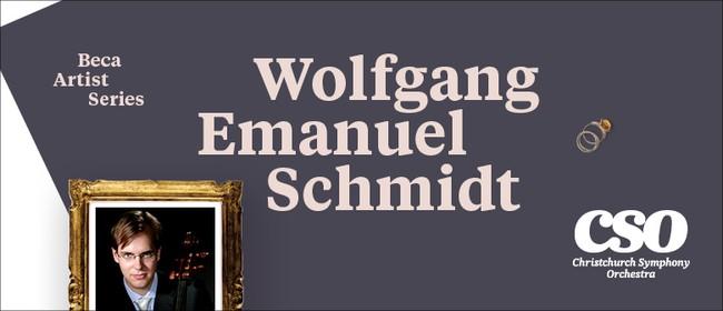Beca Artist Series: Wolfgang Emanuel Schmidt
