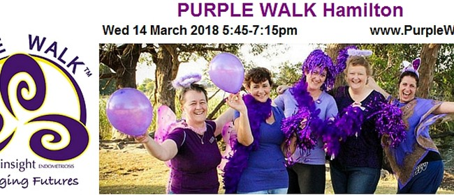 Purple Walk for Endometriosis 2018