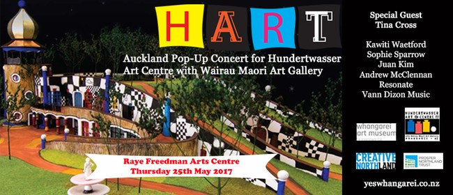 HART - Auckland Pop-Up Concert for Hundertwasser Art Centre