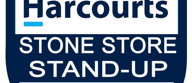 Harcourts Stone Store Stand-Up