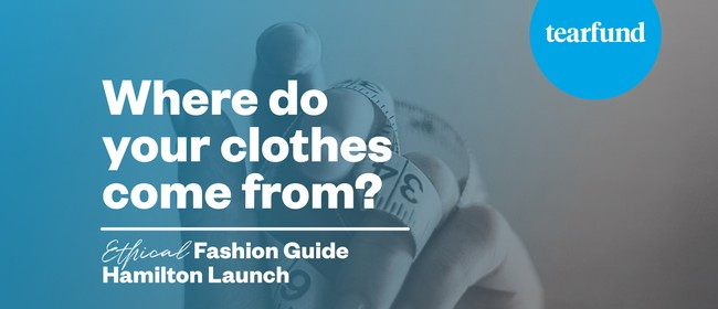 Ethical Fashion Guide Hamilton Launch
