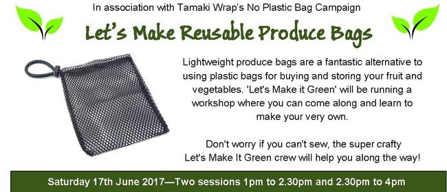 Let's Make Produce Bags