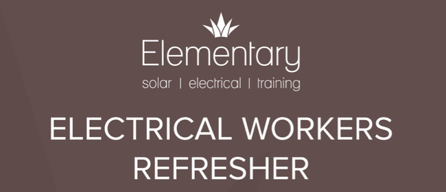 Electrical workers refresher EWRB