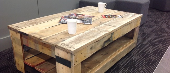 Create a Rustic Coffee Table