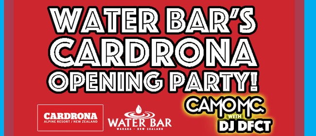 Cardrona Opeing Party