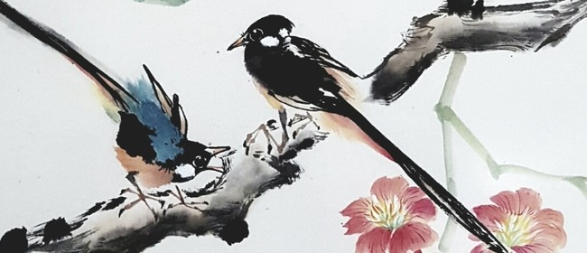 Chinese Watercolour & Ink Painting - Birds ​(Level 1)
