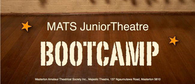 MATS Junior Theatre Bootcamp