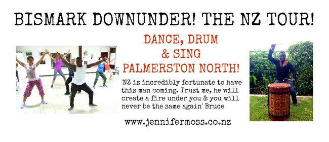 Dance, Drum & Sing with Bismark: Palmerston North