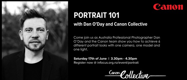Portrait 101 With Dan O'Day & Canon