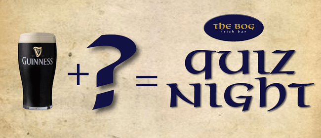 The Bog Quiz Night