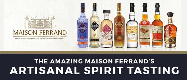 The Amazing Maison Ferrand Artisanal Spirit Tasting