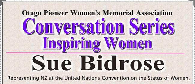 Inspiring Women - A Conversation with Dr Sue Bidrose