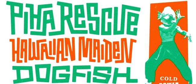 Cold Power Surf: Piha Rescue, Hawaiian Maiden, Dogfish