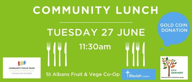 Community Lunch - Community Focus Trust