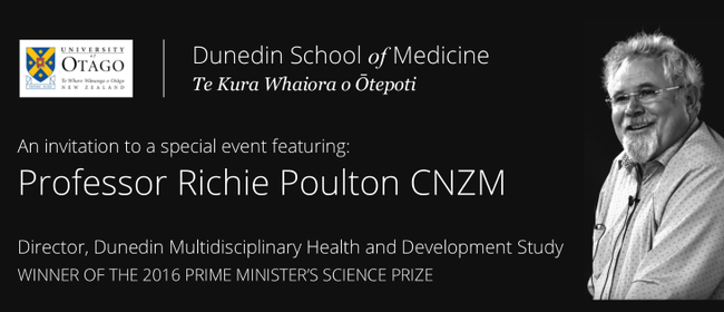 Professor Richie Poulton CNZM: Staying Ahead of The Curve