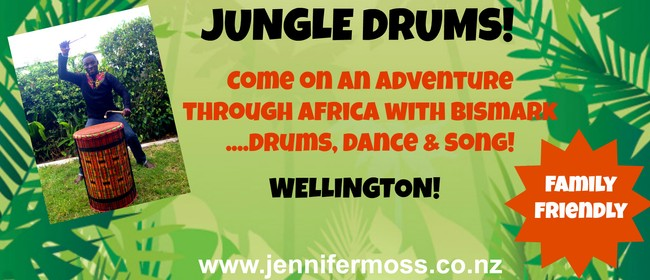 Jungle Drums Kids Show! Wellington!