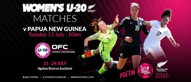 NZ Football Women's U-20 vs Papua New Guinea
