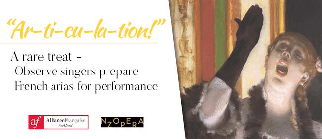 Ar-ti-cu-la-tion! See Opera Singers Prepare for Performance