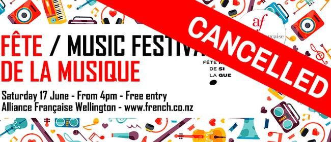 Fête De La Musique - Music Festival: CANCELLED