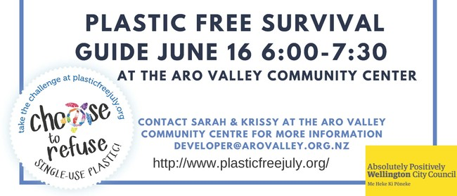 Plastic Free July Survival Guide