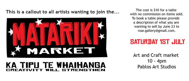 Matariki Art and Craft Market