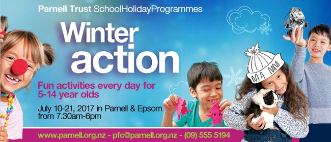 Paint Effects - Parnell Trust Holiday Programme