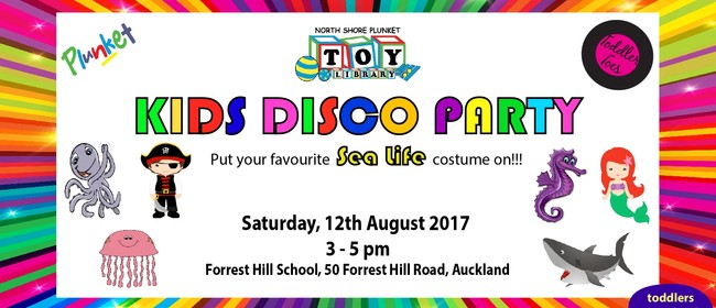 Kids Disco Party - For Toddlers and Pre-schoolers