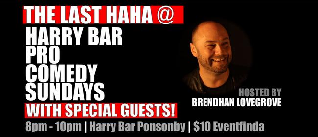 The Last Haha at Harry Bar