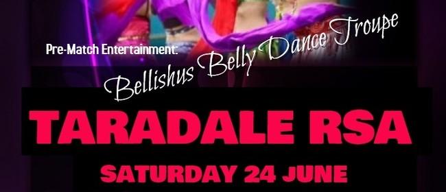 Bellishus Belly Dance Troupe Pre Match Entertainment