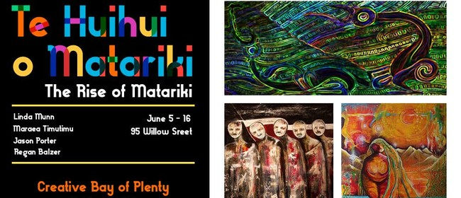 Te Huihui o Matariki: The Rise of Matariki Exhibition