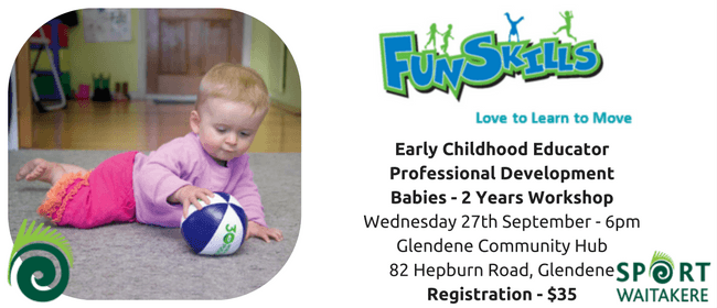 Sport Waitakere - Early Childhood Educator PD 0-2Years