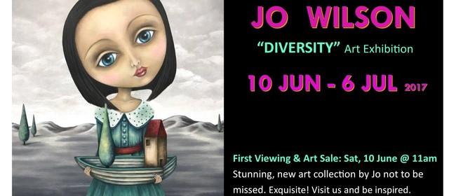 Diversity - Art Exhibition by Jo Wilson