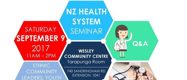 NZ Health System Seminar