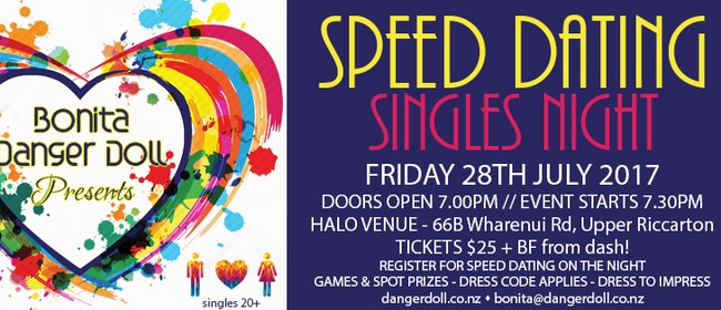 from Marcelo speed dating events christchurch