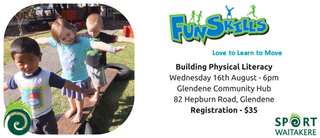 Sport Waitakere Early Child Educator PD - Physical Literacy