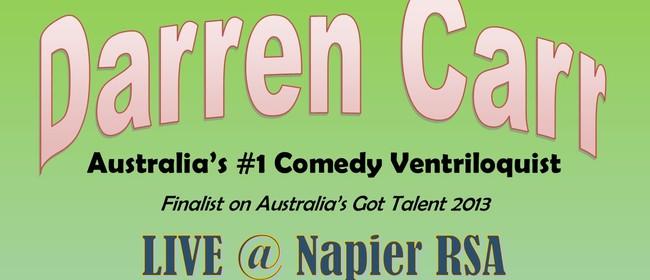 Darren Carr Ventriloquist Comedy Show