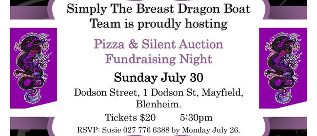 Pizza & Silent Auction Fundraising Night