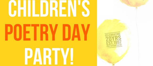 Children's Poetry Day Party!