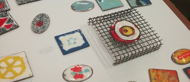 Kiln Fired Enamels With Sally Laing