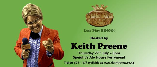 Keith Preene's Golden Goose Bingo