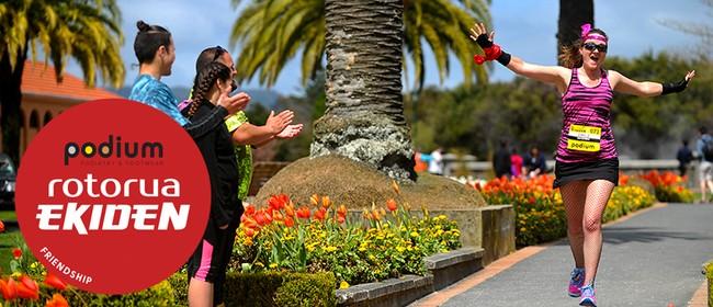 Podium Rotorua Ekiden