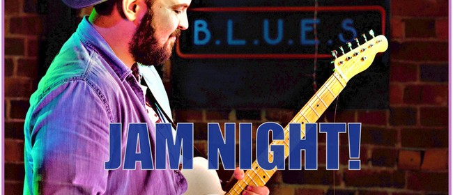 Blues Jam Night – MC Chris Armour