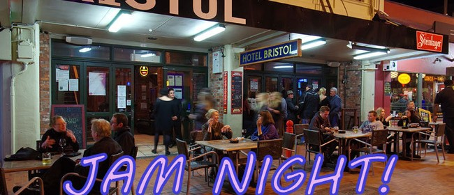 Roomfulla Blues Jam Night – MC Peter Bosman
