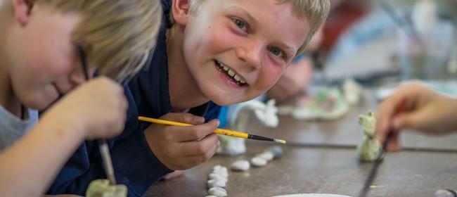 Kids Clay Sculpture - 3 Day Workshop