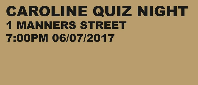 The Willing Bodies Quiz Night
