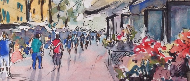 Studio One Toi Tū - Watercolour Sketching