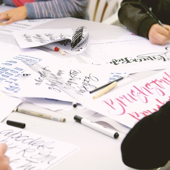 Studio One Toi Tū - Intro to Calligraphy and Hand Lettering